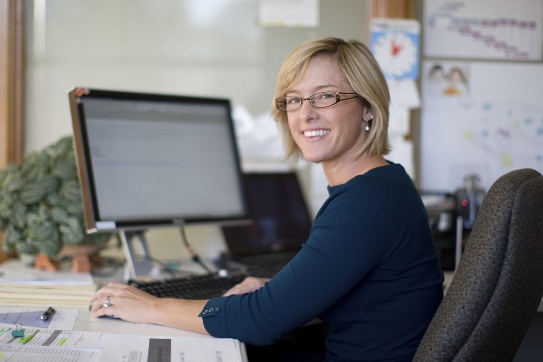 Смотреть Фото Женщины На Работе